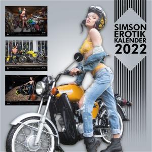 SIMSON Erotik-Kalender 2022