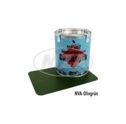 Lackfarbe, Leifalit (Premium),  olivgrün, matt, passend für NVA-Modelle 0,5l
