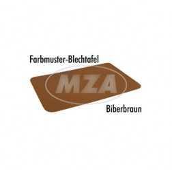Farbmuster auf Blech Leifalit (Premium)  biberbraun
