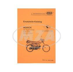 Ersatzteile-Katalog Mokick S53-S83, S51/1-S70/1, Ausg.1993