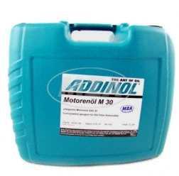 ADDINOL M30 OLDTIMER - MOTORENÖL, (SAE Klasse 30 // Viskosität 11,0), mineralisch, 20 L Kanister