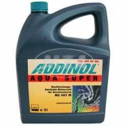 ADDINOL MZ407 M AQUA SUPER, Boots-Motorenöl, Hochleistungs-2-Takt-Öl, mineralisch, 5 L Kanister