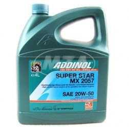 ADDINOL PKW SAE 20W-50 Super Star MX2057, Hochleistungsöl, mineralisch, 4 L Kanister.