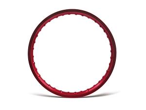 Felge 1,50x16 Alufelge rot - Simson