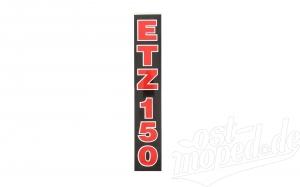 Klebefolie Schriftzug ETZ 150 Telegabel Aufkleber