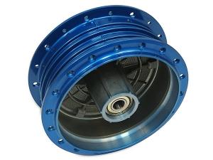 Simson Radnabe - blau - komplett montiert