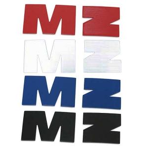 Set Buchstaben M & Z für Tank MZ ETZ 125, 150, 251