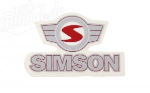 Aufkleber / Klebefolie - Simson - mit Emblem - S53, S83