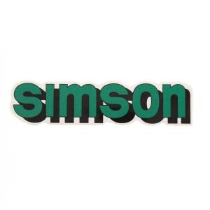 simson aufkleber klebefolie seitendeckel s51 enduro gr n. Black Bedroom Furniture Sets. Home Design Ideas