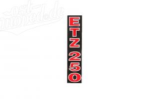 Klebefolie Telegabelholm, rot/schwarz/weiß ETZ250