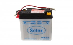 Batterie 6V 4Ah - ohne Säurepack
