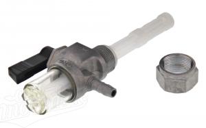 Benzinhahn O.M.G mit Wassersack Simson, ETZ/TS 125,150,250 ETZ 251/301