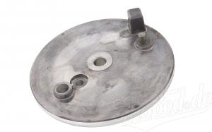 Bremsschild hinten mit Loch für Bremslichtkontakt Simson S51, S50, KR51/2