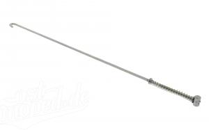 Bremsstange komplett - verchromt - 485 mm lang - S51, S70, S53, S83