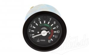 Tuning Drehzahlmesser mit schwarzem Ring und Fernlichtkontrolle - S51, S53, S70, S83