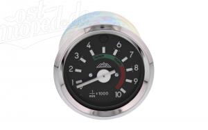 Drehzahlmesser mit Chromring und Fernlichtkontrolle - S51, S53, S70, S83