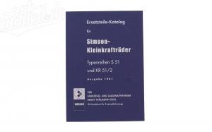 Ersatzteilkatalog für Simson S51 und Schwalbe KR51/2