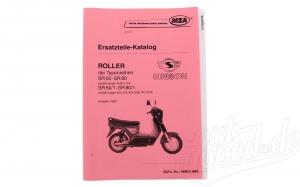 Ersatzteilkatalog Roller SR50/SR80 Ausg.1993