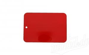 Farbmuster auf Blech, Leifalit (Premium), rot, passend für MZ- Modelle, ES, TS