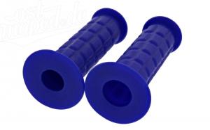 Lenkergummi SET (Festgriff-Gummi und Drehgriff-Gummi) blau S50, S51, S70, SR50, SR80