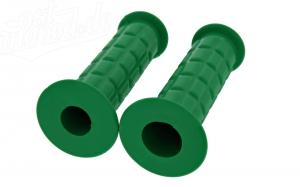 Lenkergummi SET (Festgriff-Gummi und Drehgriff-Gummi) grün S50, S51, S70, SR50, SR80
