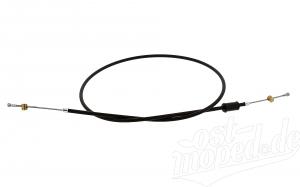 Bowdenzug Handbremse -schwarz- TS125, TS150, TS250/1 für flachen Lenker