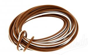 Kabel braun / weiß 1,5 mm²