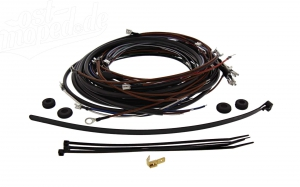 Kabelbaumset S50 B1 6V Kontaktzündung inkl. Schaltplan