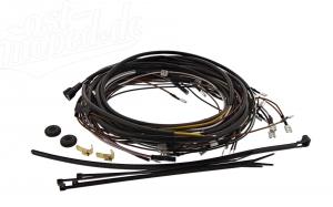Kabelbaumset S51/1 C1 12V Elektronikzündung inkl. Schaltplan