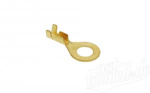 Kabelschuh - Ringform ø 6 mm - Kabelschuh für Kabel 0,75-1,5 Ringöse unisoliert