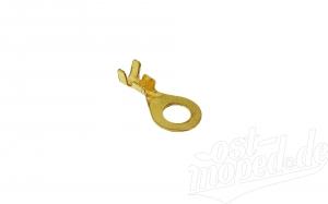 Kabelschuh - Ringform ø 6 mm - für Kabel 2,5 Ringöse unisoliert