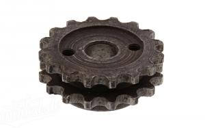 Kettenrad auf Kurbelwelle (zweifach) ES/TS 125/150