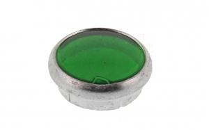 Kontrollglas Grün - Glas in Alueinfassung - pass. für AWO, RT, BK,R35 (auch KR51/1, Star, Habicht, S