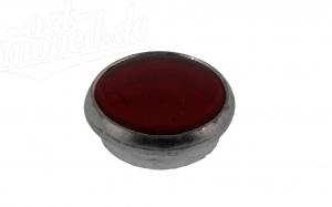 Kontrollglas Rot - Glas in Alueinfassung - pass. für AWO, RT, BK, R35 (auch KR51/1, Star, Habicht, S