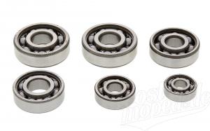 Set Kugellager Motor S50, KR51/1, SR4-1, SR4-2, SR4-3, SR4-4, DUO4/1 - 1. Qualität