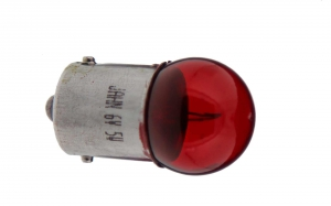 Kugellampe (Rücklicht) 6V 5W rot