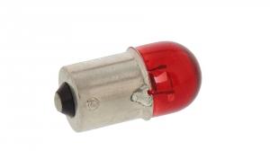 Kugellampe 6V 10W BA15s rot