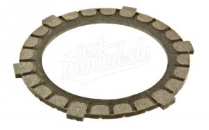 Kupplungsscheibe A6 / Reibbelag KO24  Ø106/99x3,5mm - Qualität 260, RT, ES, TS, ETZ125, ETZ150, SR1,