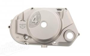 Kupplungsdeckel 4-Gang S51, S53, SR50, KR51/2 - für Drehzahlmesserantrieb - silbermetallic