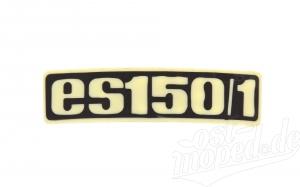 Typenschild - Plakette - Abzeichen für ES150/1 - Plastik