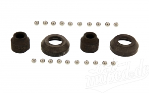 Radlagersatz SR1, SR2, SR2E, KR50 Optima-Nabe 12mm Achse