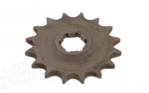 Kettenrad am Getriebe, Antriebsritzel 16 Zähne, TS/ES 125,150