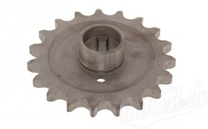 Kettenrad am Getriebe 19 Zähne TS250