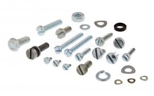 Normteile-Set KR51 Elektrik-Kleinteile (Zündschloss-Blinkgeber-Scheinwerfer-Sicherungsdose)