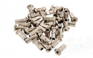 Set - 36 Speichennippel M3,5 - verchromt