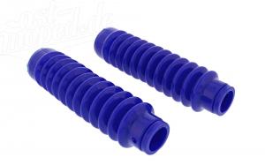 Set: Faltenbalg für Telegabel - blau - Simson S50, S51, S53, SR50