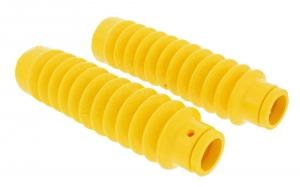Set: Faltenbalg für Telegabel - gelb - Simson S50, S51, S53, SR50