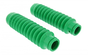 Set: Faltenbalg für Telegabel - grün - Simson S50, S51, S53, SR50