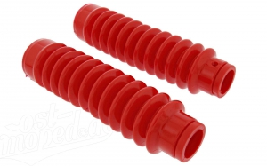 Set: Faltenbalg für Telegabel - rot - Simson S50, S51, S53, SR50