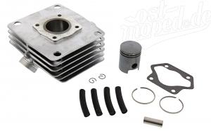 Set Zylinder mit Kolben - 60cm³ - S61, S51, S53, SR50, KR51/2 - 1. Qualität - Kolben mit Einfahrbeschichtung
